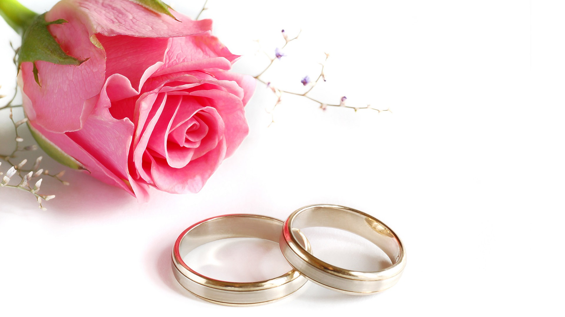 Mariage et papier peint anneau de mariage (2) #12 - 1920x1080 Fond d ...