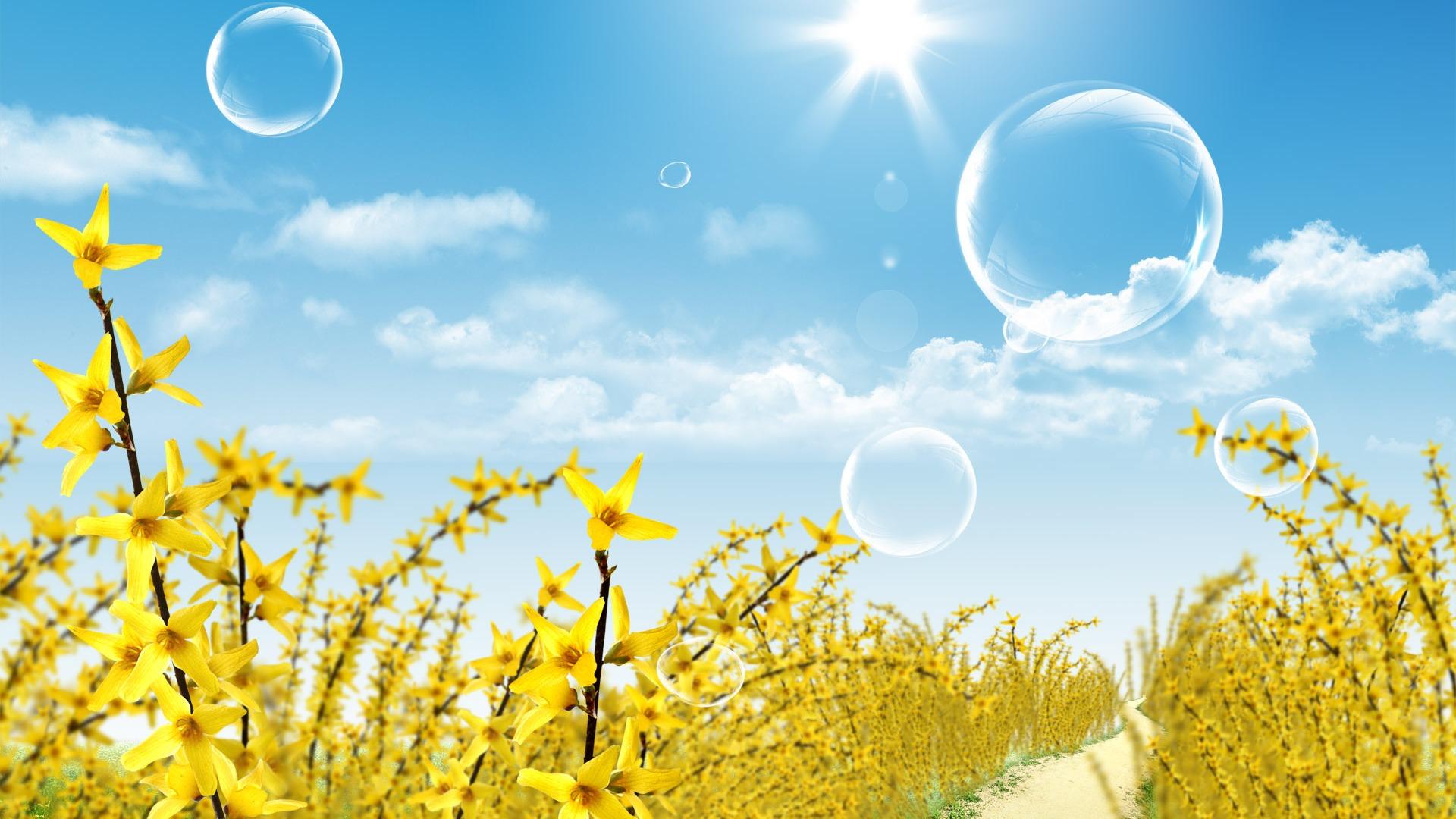Photoshop fondos de escritorio de paisaje soleado de verano 1 14 1920x1080 fondos de - Fondos de escritorio verano ...