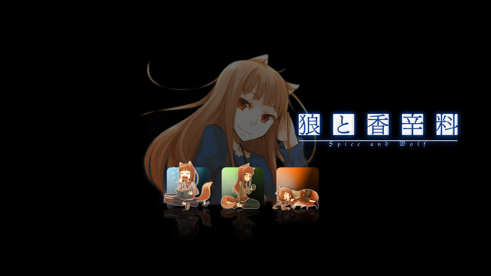 Spice And Wolf HD Wallpapers 23