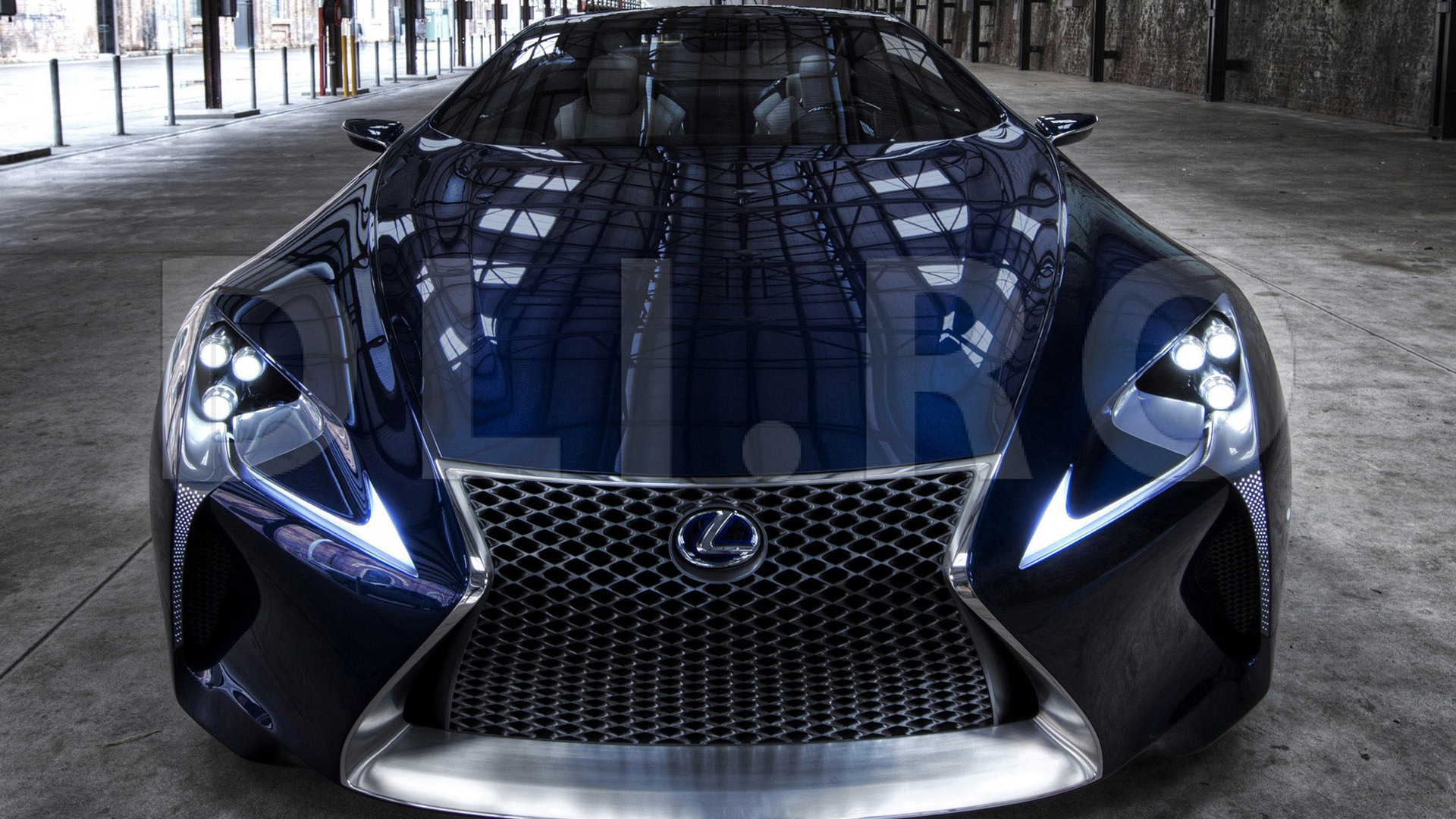 2012 Lexus LF-LC Blue concept HD wallpapers #15 - 1920x1080 ...