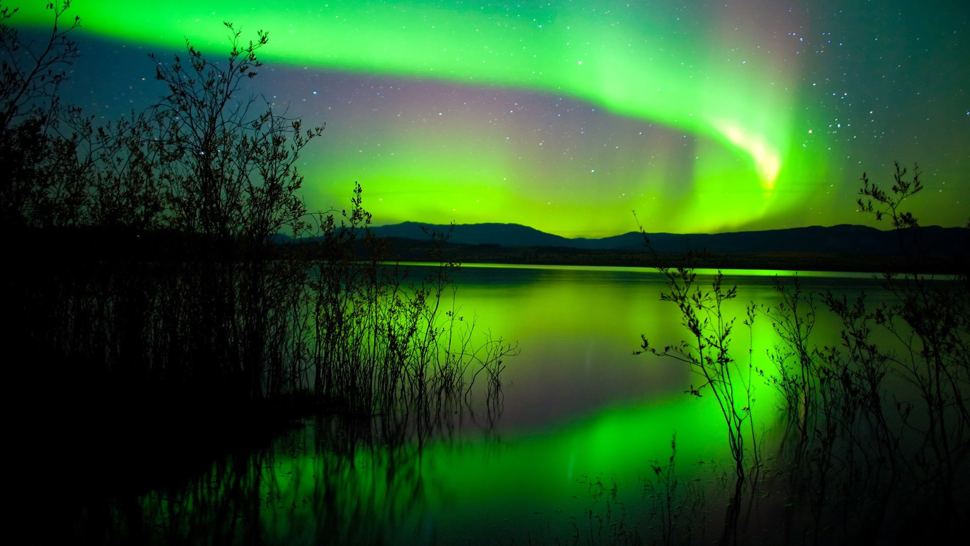 Naturwunder der northern lights hd wallpaper 2 12 for Best places to visit over christmas in the us