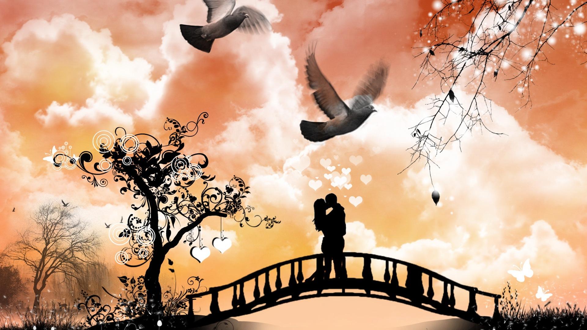 Warm Und Romantischen Valentinstag Hd Wallpaper 20 1920x1080