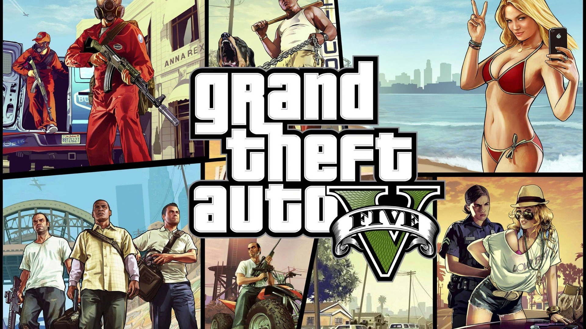 Grand Theft Auto V Gta 5 Hd Game Wallpapers 8 1920x1080 Wallpaper