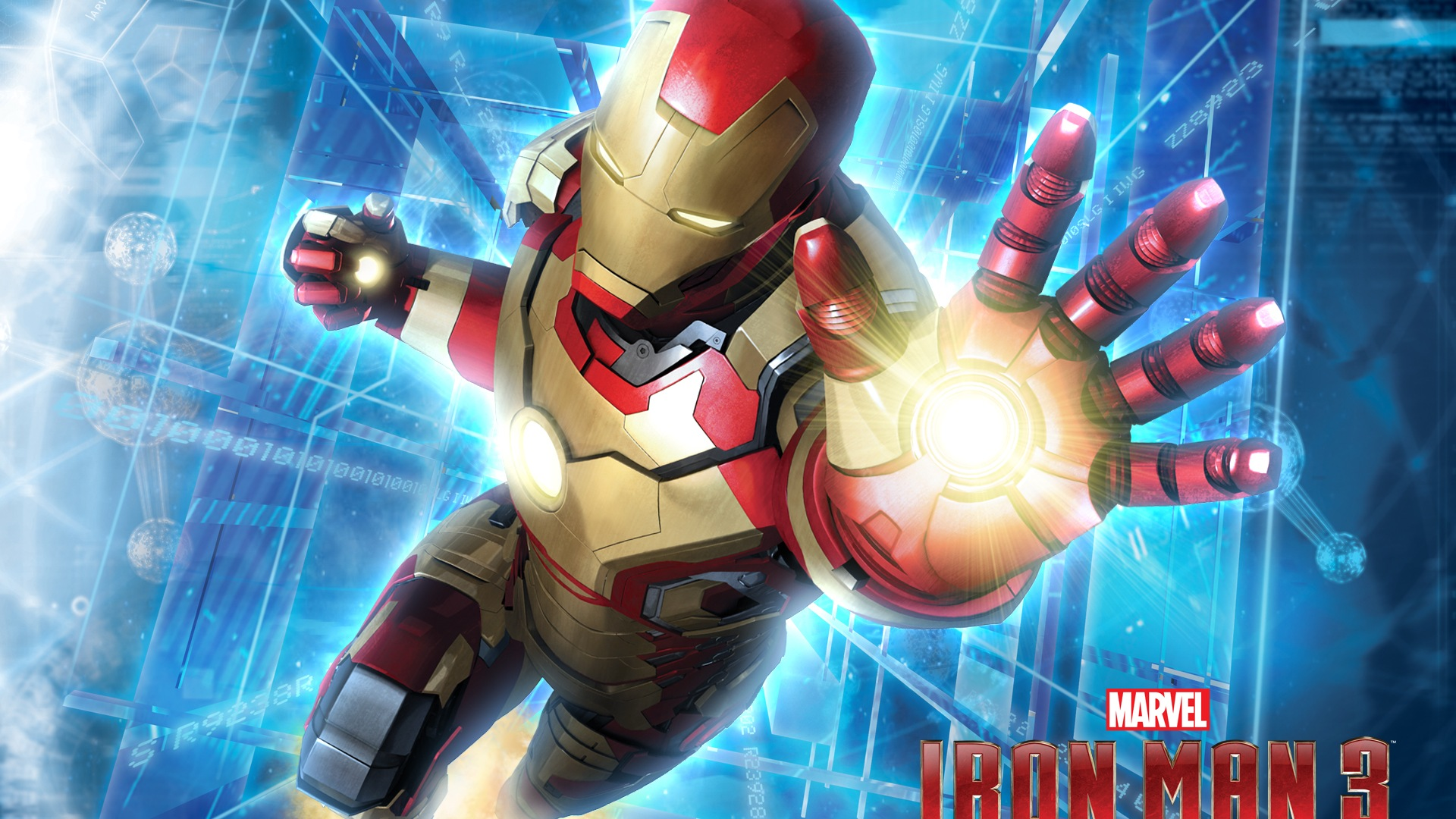 2013 Iron Man 3 newest HD wallpapers #9 - 1920x1080