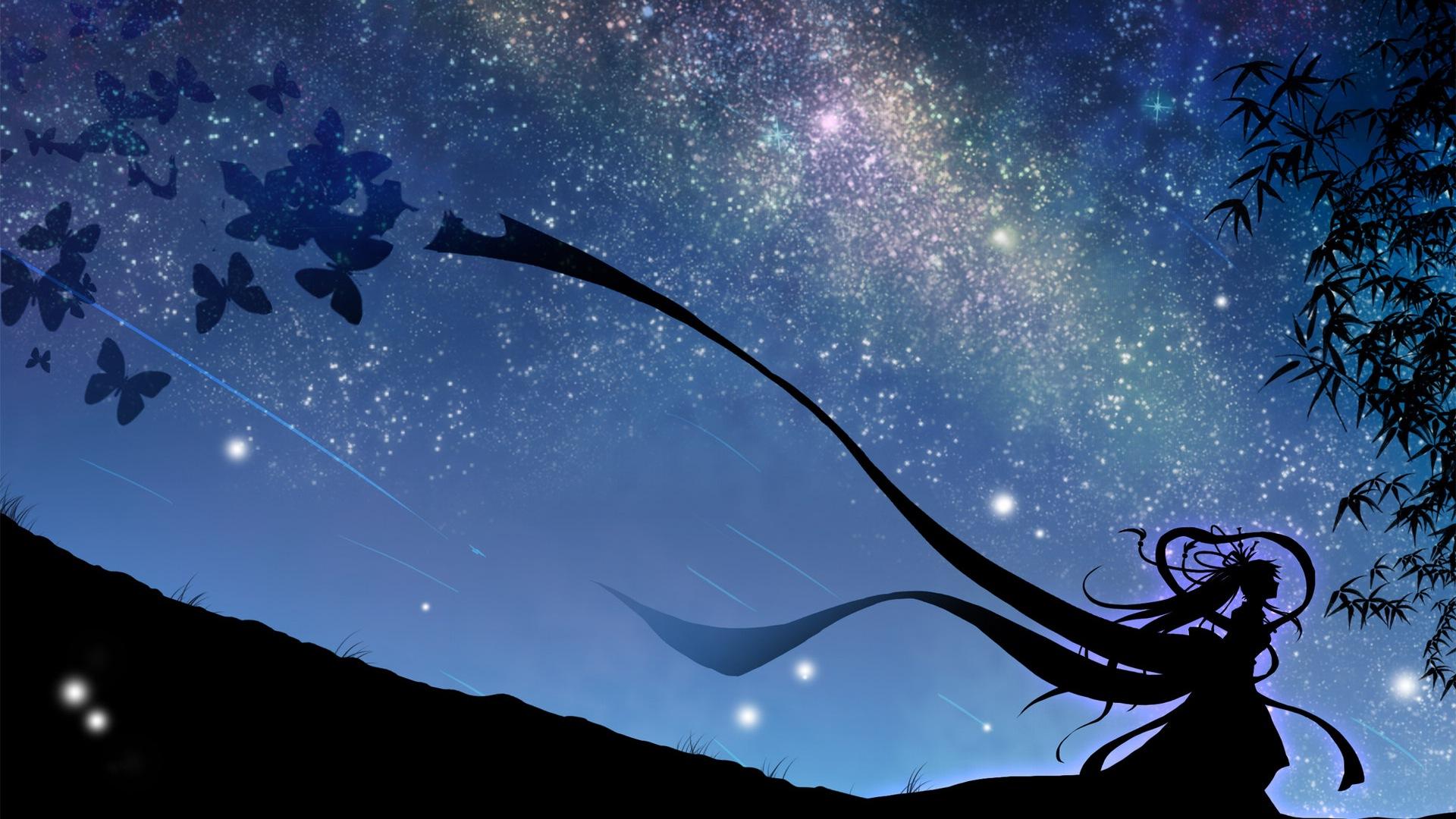 Luciole t beau fond d 39 cran anime 8 1920x1080 fond d for Fond ecran animation