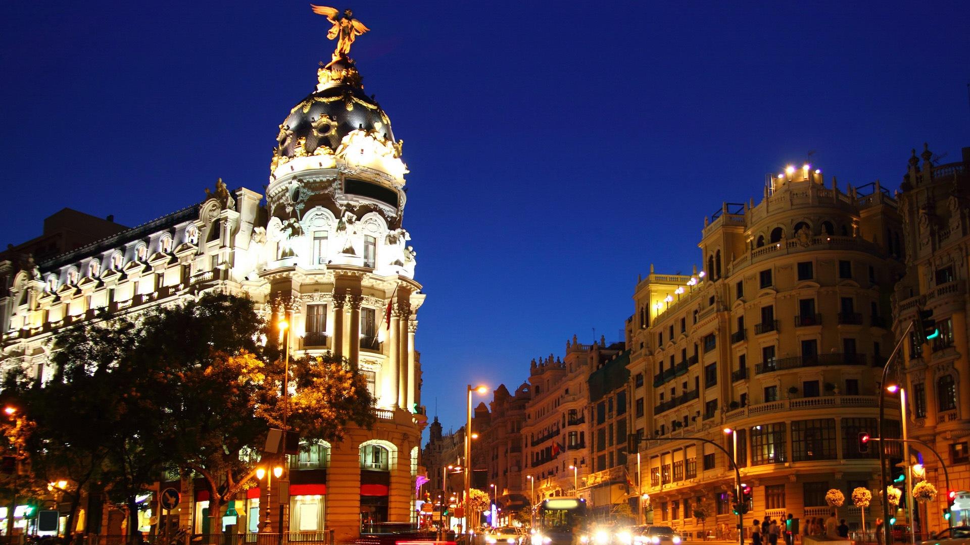 マドリードスペインの首都 都市の風景のhdの壁紙 16 19x1080 壁紙ダウンロード マドリードスペインの首都 都市の風景のhdの壁紙 風景 壁紙 V3の壁紙