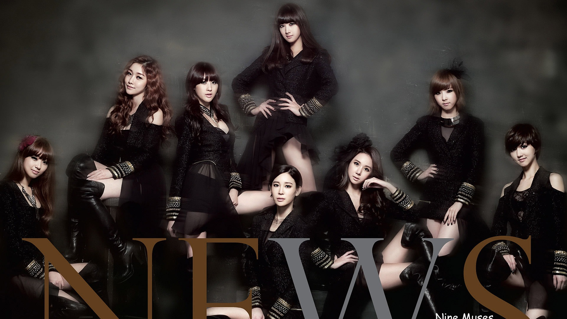 Korean Girl group Nine Muses HD Wallpapers #1 - 1920x1080