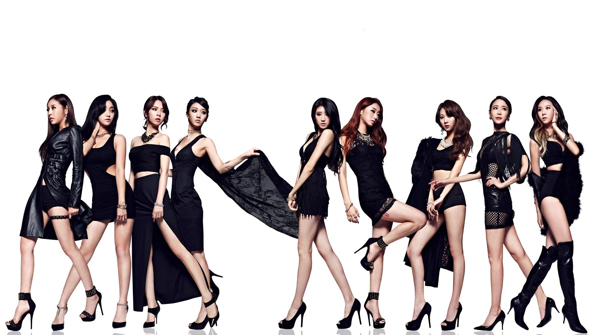 Korean Girl group Nine Muses HD Wallpapers #19 - 1920x1080