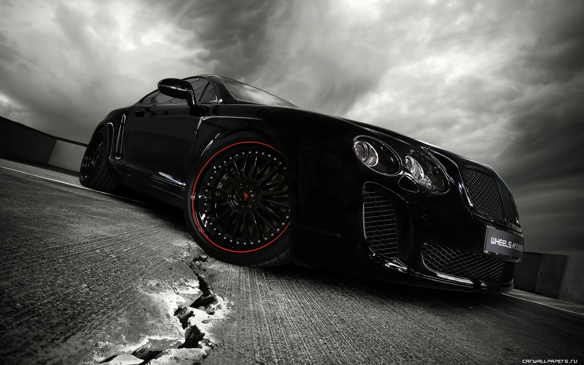 Wheelsandmore Bentley Continental Ultrasports 702 - 2010 HD обои #2 - 1920x1200