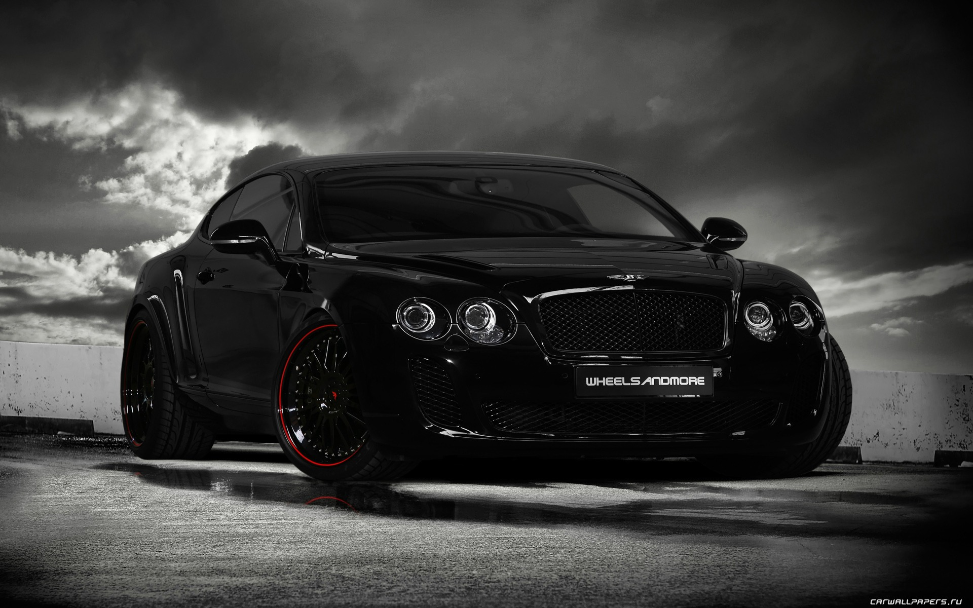 Wheelsandmore Bentley Continental Ultrasports 702 - 2010 HD обои #3 - 1920x1200