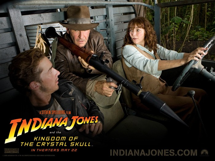 Indiana Jones 4 Crystal Skull wallpaper #21