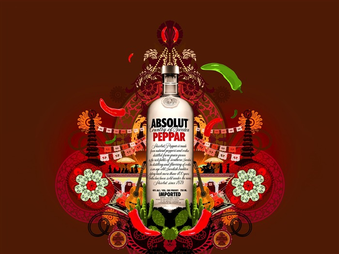 Absolut Tapety louhu Reklama #15