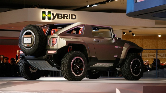 Hummer HX Concept Car Wallpaper #2