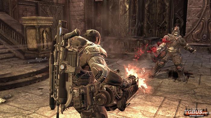Gears of War 2 fonds d'écran HD (1) #9