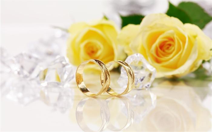 Mariage Fond D écran Hd Télécharger: Mariage Et Papier Peint Anneau De Mariage (2) #2