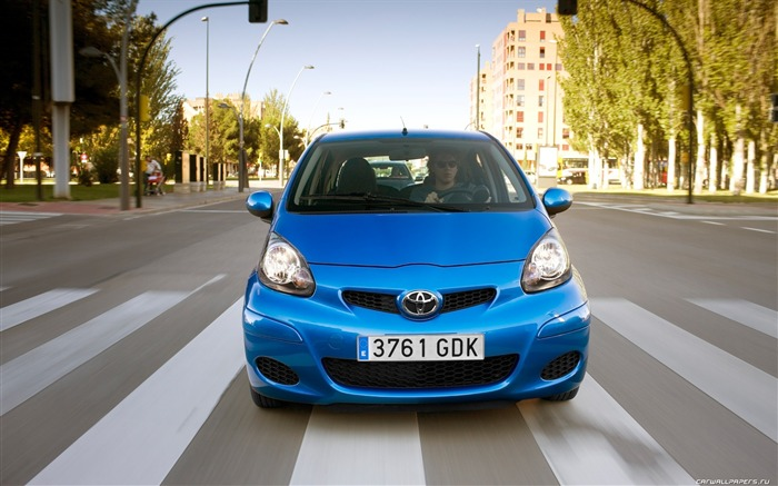 Toyota Aygo - 2009 HD Wallpaper #1