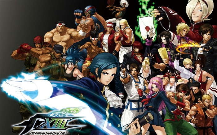 The King of Fighters XIII 拳皇13 壁纸专辑1