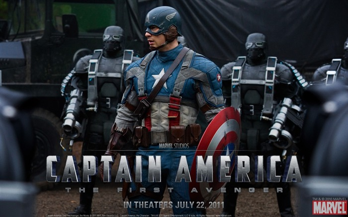 Captain America: The First Avenger 美国队长 高清壁纸21