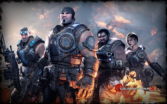 Imagenes De Gears Of War 3 En HD