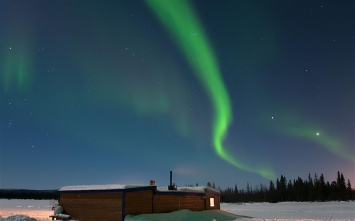Natural wonders of the Northern Lights HD Wallpaper (2) #16