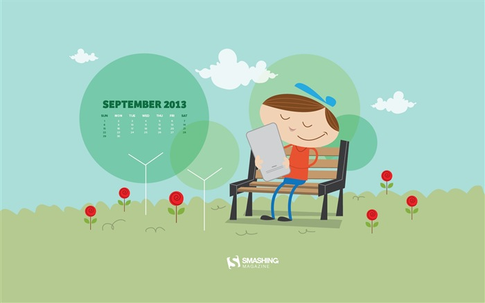 September 2013 Kalender Wallpaper (2) #17