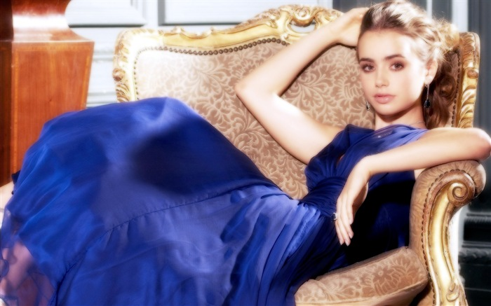 Lily Collins beautiful wallpapers #5