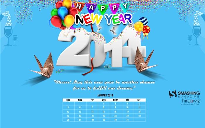 カレンダー 2014年1月カレンダー : 2014年1月カレンダー壁紙(1) #1 ...