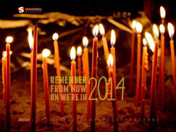 カレンダー 2014年1月カレンダー : 2014年1月カレンダー壁紙(2) #8 ...