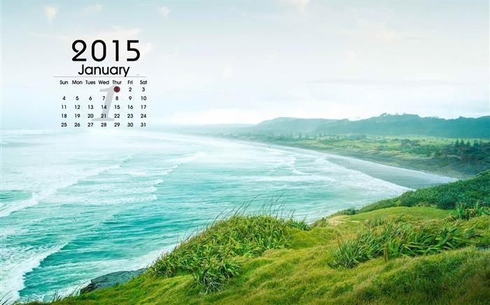 カレンダー 4月のカレンダー 2015 : 2015年1月カレンダー壁紙(1 ...