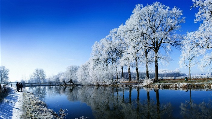 冬季冰雪美景 高清壁纸1 - 壁纸预览 - 风景壁纸 - v3