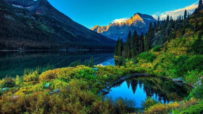 唯美自然山水风景 高清壁纸1
