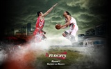 NBA Houston Rockets 2009 playoff wallpaper