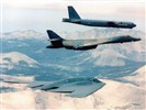 B-52 strategic bombers