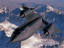 SR-71 Blackbird reconnaissance aircraft wallpaper