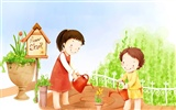 Lovely Children's Day Wallpaper Illustrator #20