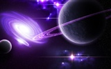 Space Landschaft Wallpaper (3)