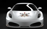 White Skull Ferrari F430 Wallpapers