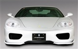 White Skull Ferrari F430 Wallpapers #6