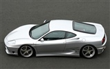 White Skull Ferrari F430 Wallpapers #7