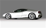 White Skull Ferrari F430 Wallpapers #8