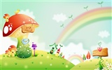 Cartoon Fantasy Scenery Wallpapers