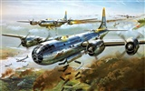 HD wallpaper painting aircraft