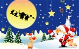 Christmas landscaping series wallpaper (9)