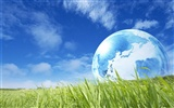 Green environmental topics PS Wallpaper