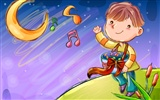 Vector children's Happy Wallpaper (1)