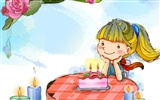 Vector children's Happy Wallpaper (2)