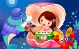 Childhood Dreams Cartoon wallpapers (1)