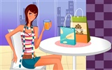 Fashion Shopping Women wallpapers (1)