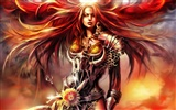 1080 Spiele Women CG Wallpaper (4)