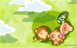 Yau giggle monkey wallpaper #22